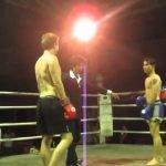 Turista decide enfrentar a peleador de Muay Thai Profesional… El resultado fue este