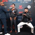 Anderson Silva y Kelvin Gastelum rindieron tributo a las artes marciales