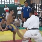 Video Viral: ¿Quién ganó la combate? ¿el Karateka o el peleador de Muay Thai?