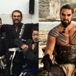 Jason Momoa, actor de Game of Thrones, el último famoso en caer a las redes del Jiu-Jitsu