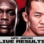 Revisa los resultados del UFC Japón