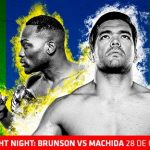 "MMA Live: UFC Fight Night ""Brunson vs. Machida"""