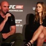 """Dana White: """"Ronda Rousey está siendo subestimada"""""""