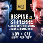 """Joe Rogan dice que """"UFC 217 no se está vendiendo bien"""""""