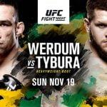 "MMA Live: UFC Fight Night ""Werdum vs. Tybura"""