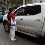 Captan a campeona mundial de Kung Fu pidiendo dinero en las calles de Chile