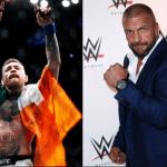 """Triple H: """"Conor McGregor no lo tendría fácil en WWE"""""""
