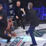 VIDEO: ¡Se volvió loco! Conor McGregor agredió a un árbitro de MMA
