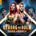MMA Live: UFC 219, Cyborg vs Holm