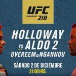 UFC: Este sábado se llevará a cabo una de las revanchas más esperadas del año