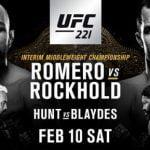 Cartelera y horario del UFC 221