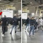 Video: Conor McGregor junto a una turba de matones ataca un bus con peleadores de UFC