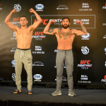 Galería: Mira las mejores fotos del pesaje oficial de UFC Chile