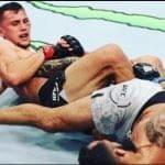 Video: Claudio Puelles y la sumisión más emocionante de UFC Chile