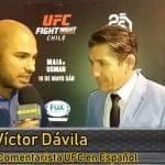 Víctor Dávila y su opinión sobre UFC Chile
