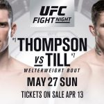 Cartelera y horario de UFC Liverpool