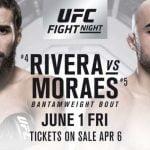 Cartelera y Horarios de UFC Utica