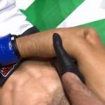 Derribo y fractura: La escalofriante lesión de un peleador de MMA