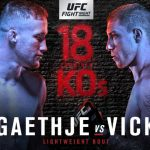 Horario y Cartelera del UFC Fight Night: Gaethje vs. Vick