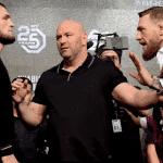 Anuncian árbitro y jueces para la pelea entre McGregor y Nurmagomedov y cuánto ganarán