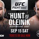 En Vivo: Sigue toda la acción del UFC Rusia