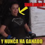La historia de la peleadora con la sonrisa más linda de las MMA y que jamás ha ganado