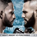 Horario y Cartelera del UFC Argentina
