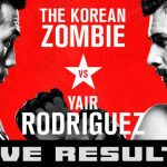 "En Vivo: Sigue toda la acción del UFC ""Korean Zombie vs. Rodríguez"""