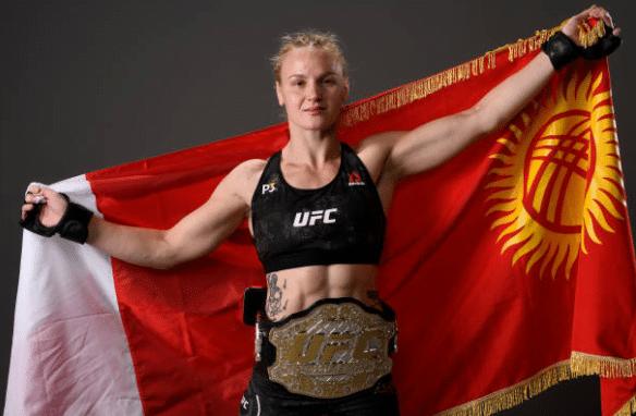 Valentina Shevchenko obtuvo el título UFC