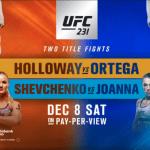 En Vivo: Disfruta toda la acción del UFC 231