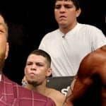 Anderson Silva pide a Nick Diaz y Conor McGregor a Nate