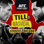 Horarios del UFC Londres: Till vs. Masvidal