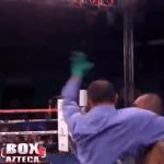 Video: El insólito KO técnico que derivó en la peor detención en la historia del boxeo