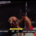 Sorpresa en ONE Championship: Eddie Alvarez es eliminado en primera ronda