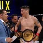 Video: Peleador chileno hace historia tras coronarse campeón de MMA en México