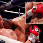 VIDEO: Boxeador es descalificado tras morder el estómago de su rival