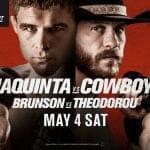 Horario: Este sábado regresa Cowboy Cerrone ante Al Iaquinta en UFC Canadá