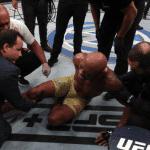Video: Anderson Silva termina lesionado en UFC y tendrá que pasar 6 meses sin pelear