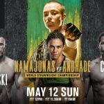 Horario: UFC 237, un evento plagado de leyendas