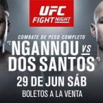 Horario y Cartelera del choque entre Junior Dos Santos y Francis Ngannou
