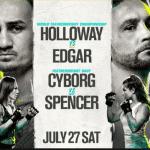 En Vivo: UFC 240 se toma la acción del día sábado