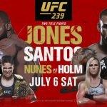 Super Evento de MMA: Te dejamos el horario y cartelera del UFC 239