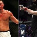Nate Diaz y Khabib Nurmagomedov protagonizaron un altercado en UFC 239