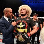 Khabib Nurmagomedov manda mensaje a Conor McGregor tras su victoria en UFC 242