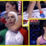 Sumisión en MMA femenina provocó el mayor susto en el mundo de las artes marciales