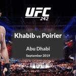 Este sábado y en horario especial se realizará UFC 242: Khabib vs Poirier