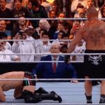 Video: Brock Lesnar y Caín Velasquez simularon una pelea de MMA en WWE