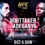 Super pelea este fin de semana: Conoce el horario del UFC 243