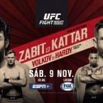 Este sábado UFC aterriza en Rusia con horario especial