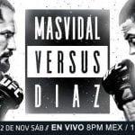 En Vivo: Disfruta de toda la acción del UFC 244